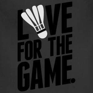 badminton - love for the game Long Sleeve Shirts - Adjustable Apron