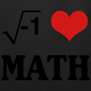 I Love Math T-Shirts - Eco-Friendly Cotton Tote
