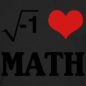 I Love Math T-Shirts - Men's Premium Long Sleeve T-Shirt