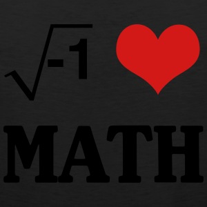 I Love Math T-Shirts - Men's Premium Tank