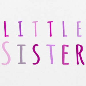 Little sister in pink Women's T-Shirts - Men's Premium Tank