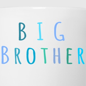 Big Brother in blue T-Shirts - Coffee/Tea Mug