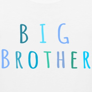 Big Brother in blue T-Shirts - Men's Premium Tank