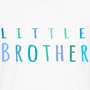 Little Brother in blue T-Shirts - Men's Premium Long Sleeve T-Shirt