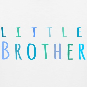Little Brother in blue T-Shirts - Men's Premium Tank