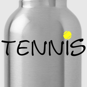 Tennis Ball Racket Court Game 2c Hoodies - Water Bottle