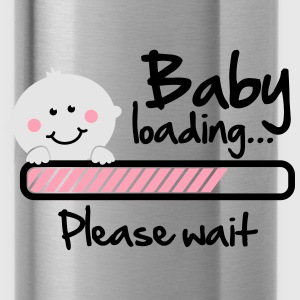 Baby loading - please wait Women's T-Shirts - Water Bottle