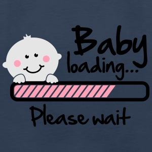 Baby loading - please wait Women's T-Shirts - Men's Premium Long Sleeve T-Shirt