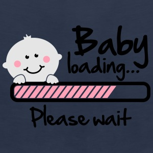 Baby loading - please wait Women's T-Shirts - Men's Premium Tank