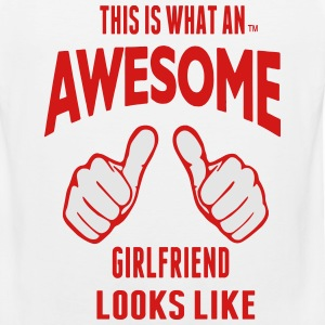 THIS IS WHAT AN AWESOME GIRLFRIEND LOOKS LIKE - Men's Premium Tank