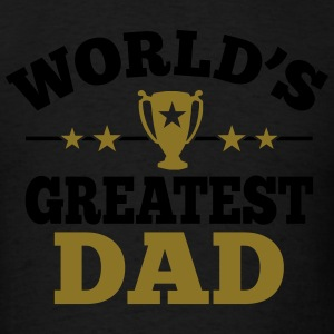 World's greatest Dad Hoodies - Men's T-Shirt