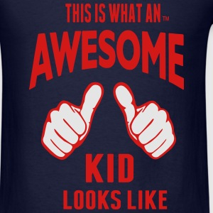 THIS IS WHAT AN AWESOME KID LOOKS LIKE - Men's T-Shirt