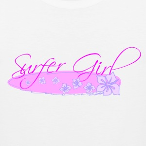 Surfer Girl Women's T-Shirts - Men's Premium Tank