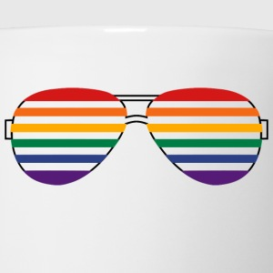 Rainbow Shades Women's T-Shirts - Coffee/Tea Mug
