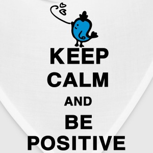 Keep Calm and Be Positive quotes Men's Standard We - Bandana