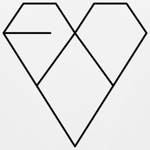 EXO: XOXO ERA HEART Hoodies - Men's Premium Tank