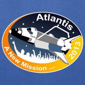 Atlantis' New Mission T-Shirts - Tote Bag