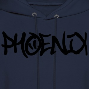 Phoenix Graffiti T-Shirts - Men's Hoodie