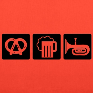 oktoberfest: pretzel + beer + folk music T-Shirts - Tote Bag