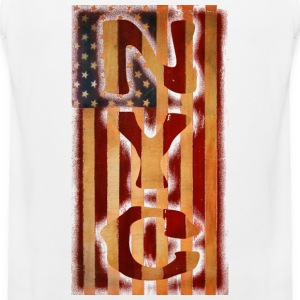 NYC American Flag T-Shirts - Men's Premium Tank