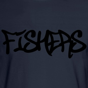 Fishers Graffiti T-Shirts - Men's Long Sleeve T-Shirt