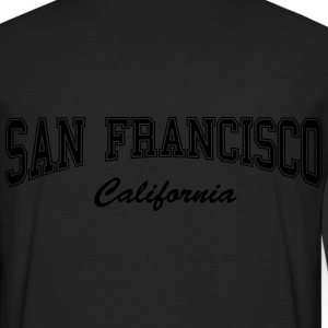 San Francisco California Zip Hoodies/Jackets - Men's Premium Long Sleeve T-Shirt