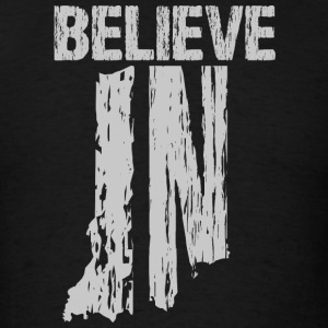 Believe IN Hoodies - Men's T-Shirt