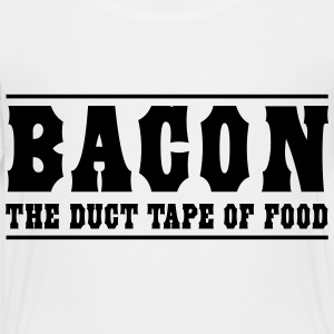 Bacon is the duct tape of food Kids' Shirts - Toddler Premium T-Shirt