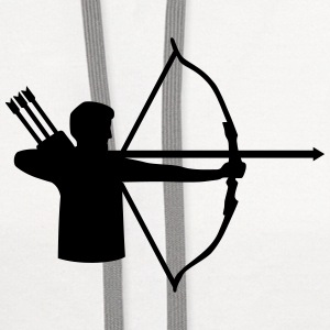 Archery T-Shirts - Contrast Hoodie