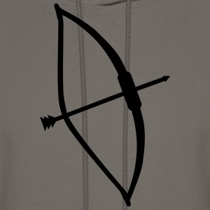 Arrow Bow T-Shirts - Men's Hoodie