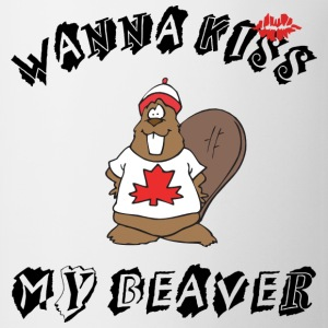 Want To Kiss My Beaver T-Shirt - Coffee/Tea Mug