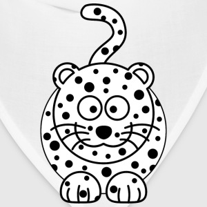 Leopard Cartoon - Bandana