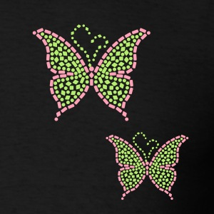 Studded Butterfly Hoodies - Men's T-Shirt