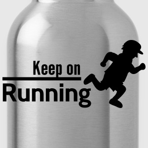 Keep on Running T-Shirts - Water Bottle