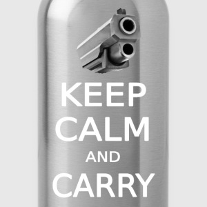 KEEP CALM AND CARRY  - Water Bottle