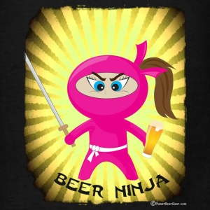 Beer Ninja Tote Bag - Men's T-Shirt