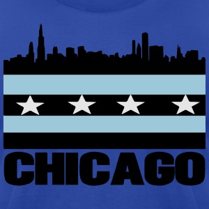 City of Chicago Hoodies - Men's T-Shirt by American Apparel