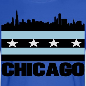 City of Chicago Hoodies - Men's Long Sleeve T-Shirt