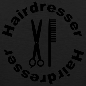 Hairdresser T-Shirts - Men's Premium Tank