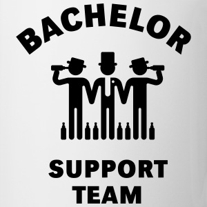 Bachelor Support Team (Stag Party) T-Shirts - Coffee/Tea Mug