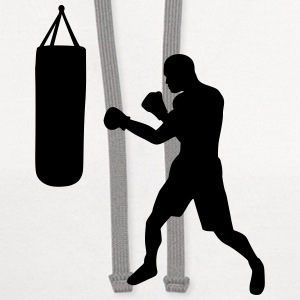 Boxing Boxer T-Shirts - Contrast Hoodie