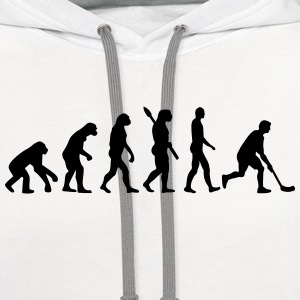 Floorball Evolution T-Shirts - Contrast Hoodie