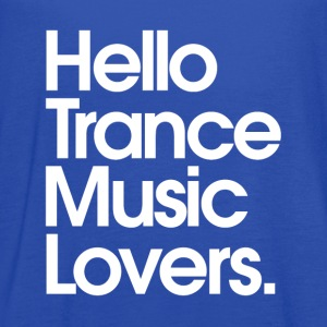 Hello Trance Music Lovers - Women's Flowy Tank Top by Bella