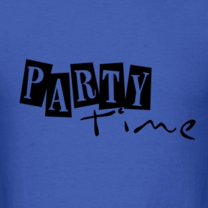 PARTY! Long Sleeve Shirts - Men's T-Shirt