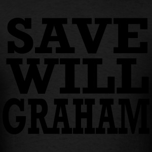 save will graham Hoodies - Men's T-Shirt