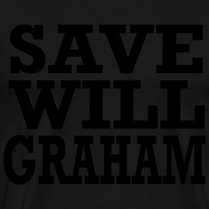 save will graham Hoodies - Men's Premium T-Shirt