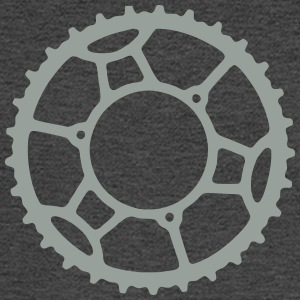 Bicycle Chainring 3  - Men's Long Sleeve T-Shirt
