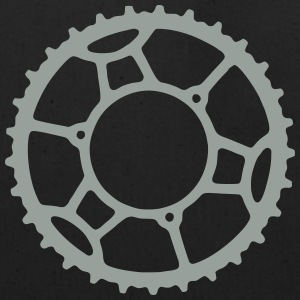 Bicycle Chainring 3  - Eco-Friendly Cotton Tote