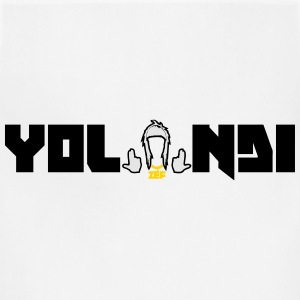 yo-landi name logo Women's T-Shirts - Adjustable Apron