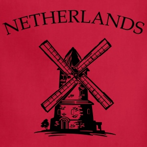 Netherlands Windmill Women's T-Shirts - Adjustable Apron